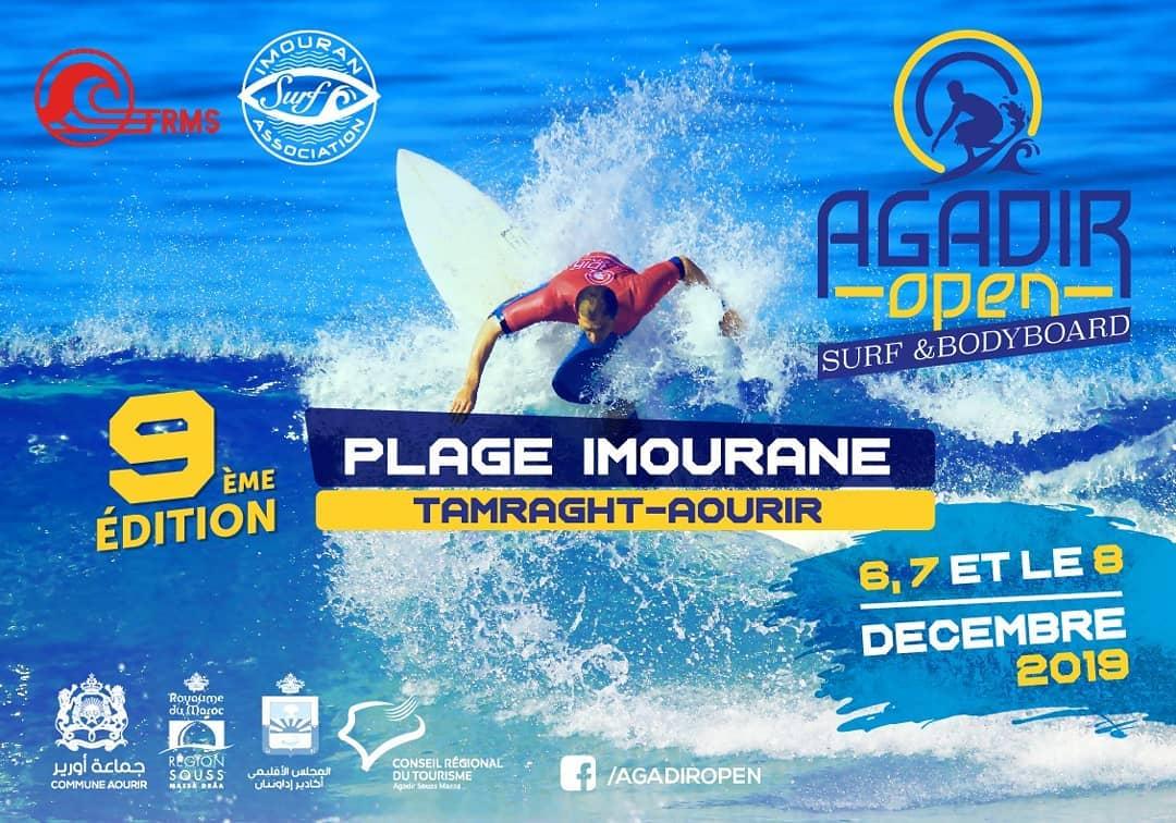 Affiche Agadir Open 2019
